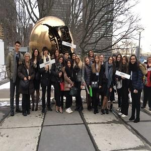 Il Majorana all'ONU di New York