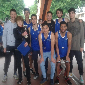 Atletica III classificati nella finale provinciale JUNIORES