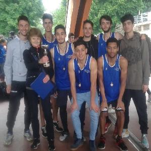 Atletica III classificati nella finale provinciale JUNIORES